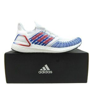 Adidas Ultraboost 20 Running Shoes White Red Royal